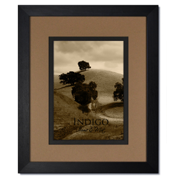 Gallery Ii Black Hardwood Frame With Tumblweed Over Black
