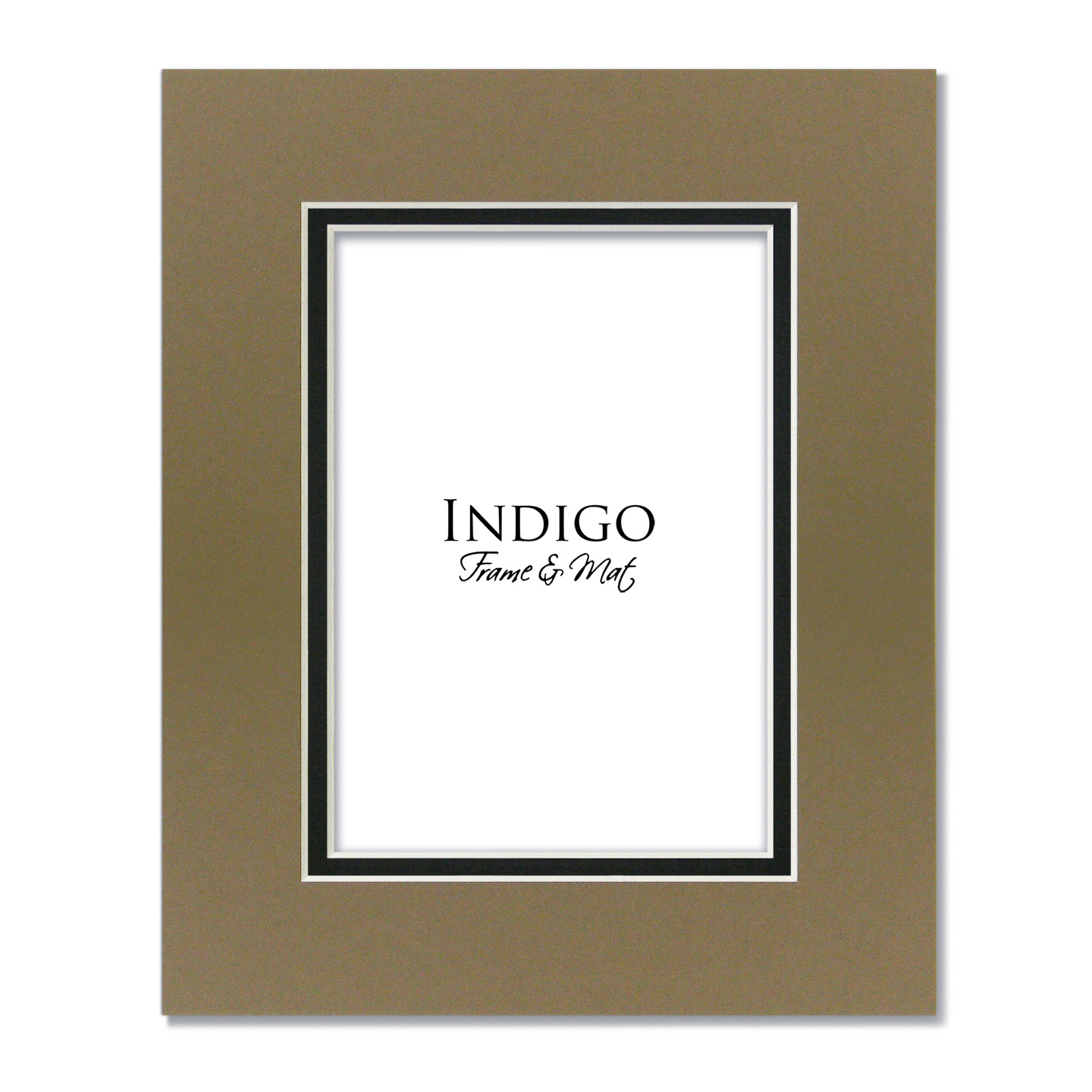 Mat Pack Tumbleweed Over Black Set Of 5 Indigo Frame